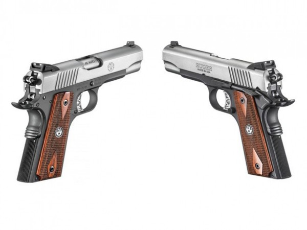 Ruger SR-1911-CMD  two tone  .45 acp,   SOLD OUT - Product Image