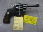 Colt Official Police .22 caliber mfg in 1961. - Product Image
