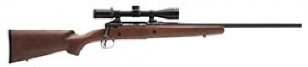 Savage Axis .223 caliber with a 3x9 scope and accu trigger new. - Product Image