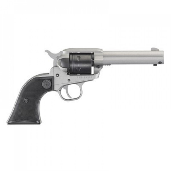 Ruger Wrangler .22 caliber single action silver. - Product Image