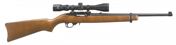 Ruger 10-22 .22 LR with a 3x9 scope new. - Product Image