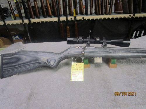 Marlin XT-17 caliber S/S with scope.   8/20/21 - Product Image