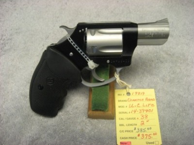 Charter Arms L.C. Lite, .38caliber, nice carry gun, new.  SOLD - Product Image