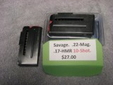 Savage 10 round mag for .22 mag and .17 HMR factory new. - Product Image